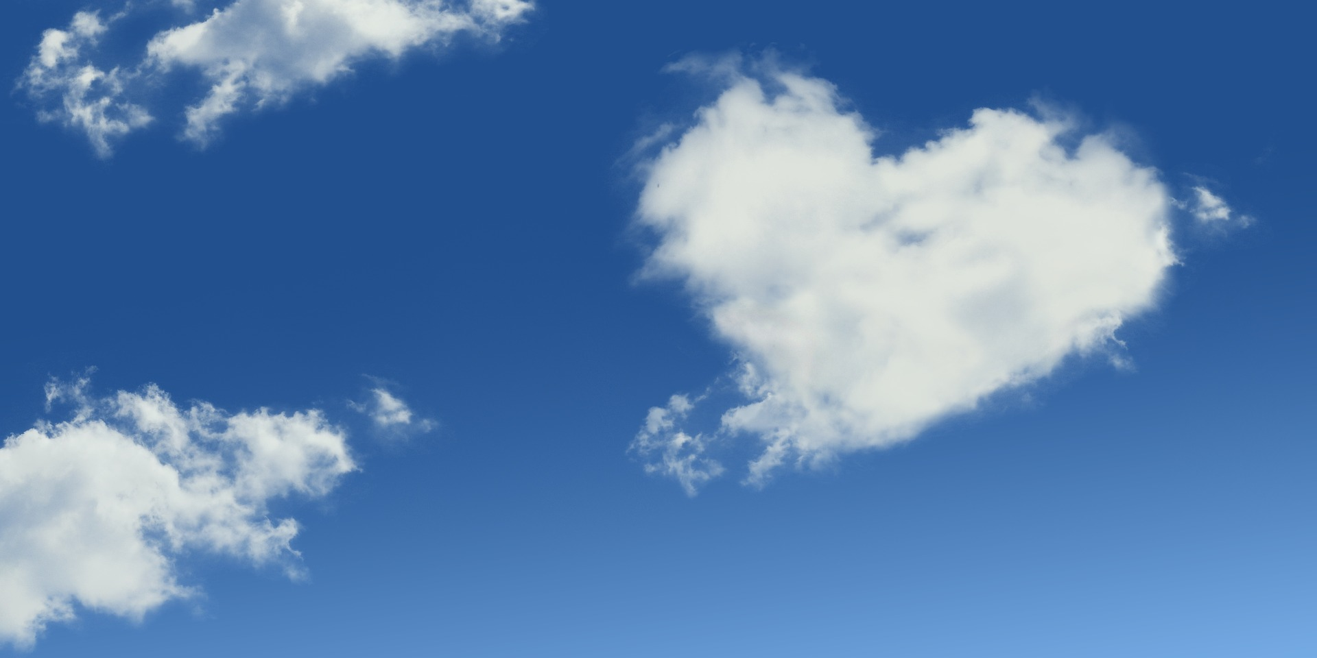 nuage en coeur